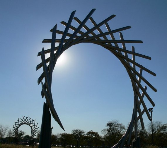 dawn sculpture by david barr
